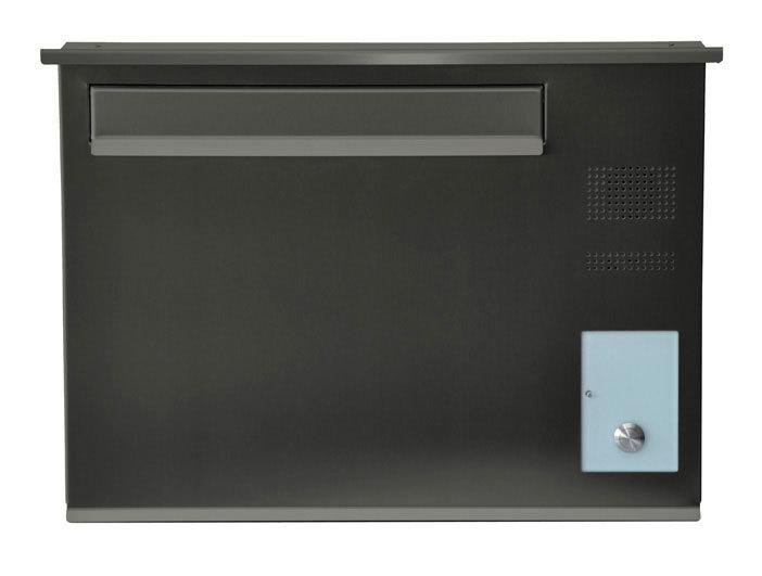zaunbriefkasten mit sprecheinheit entnahme von hinten db farben. Black Bedroom Furniture Sets. Home Design Ideas